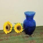"9"" Cobalt Vase"