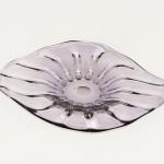 Amethyst Flower Bowl Platter