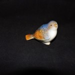 Burton + Burton Small Hand Painted Porcelain Blue Bird