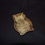 Cast Iron Owl Soap Dish