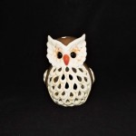 Ceramic Owl Candle Holder