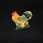Ceramic Rooster Spoon Rest