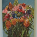 Gorgeous Flower Painting by Jill Perla