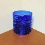 Hand Blown Cobalt Bowl / Vase