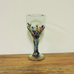 Hand Blown Multicolor Goblet