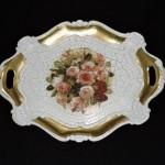 Hand Crafted Florentine Dresser Tray