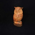 Hand Painted Resin Owl