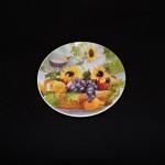 Judy Boswell Santa Barbara Sunflower Dessert Plate