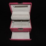 Max Designs Pink Jewelry Travel Case