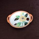 Noritake 1920s Hand Painted Sunflower Dish