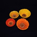 Pier 1 Ceramic Sunflower Measuring Cups