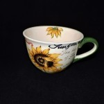 Royal Sunflower Soup Mug