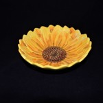 Sketch Sunflower by Maxcera Salad Bowl
