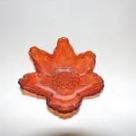 Turkish Akcam Small Orange Flower Bowl