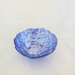 Turkish Iridescent Blue Bowl