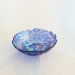 Turkish Iridescent Purple Bowl