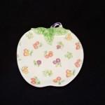 Vintage Fruity Tominaga Apple Dish