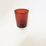 Vintage Luminarc Ruby Glass