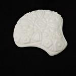 Vintage McKee Toltec Prescut Shell Relish Tray