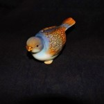 burton + Burton Large Hand Painted Porcelain Blue Bird