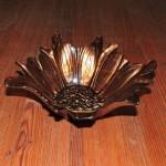 Turkish Brown Flower Bowl