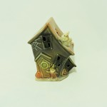 Ceramic Halloween Haunted House