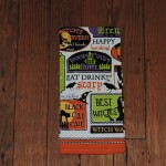 Halloween Sayings Kitchen Towel