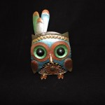 Metal Indian Owl