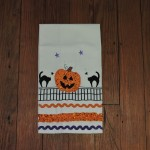 Pumpkin & Cat Kitchen Towel