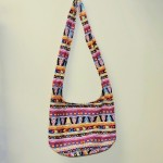 Bold Southwestern Multicolor BoHo Hippie Shoulder Bag