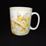 222 Fifth Yellow Bunny Party Mug