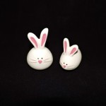 Ceramic Easter Bunny Salt & Pepper Shakers