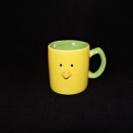 Transpac Yellow Easter Chick Mug With Green Handle