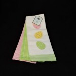 Well Dressed Home Embroidered Easter Egg Kitchen Towels