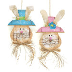 burton + Burton Easter Bunny Head Wall Hanging