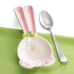 burton + Burton Easter Bunny Spoon Rest