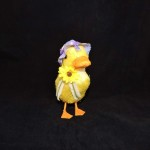 burton + Burton Easter Duck With Lavender Bonnet