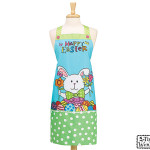 "burton + Burton Hand Painted ""Happy Easter"" Apron"