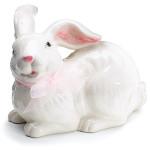 burton + Burton Ceramic White Bunny Figurine